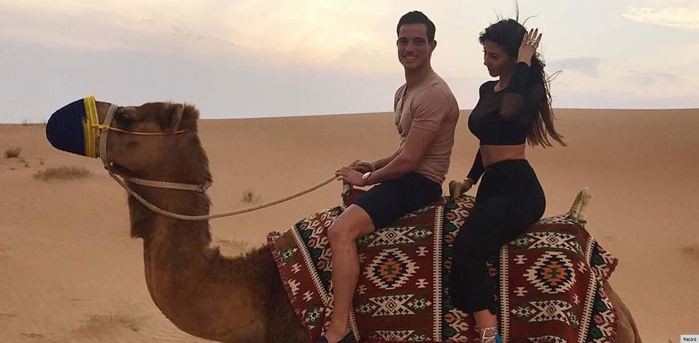 Cédric e Filipa Brandão escolhem Dubai para namorar