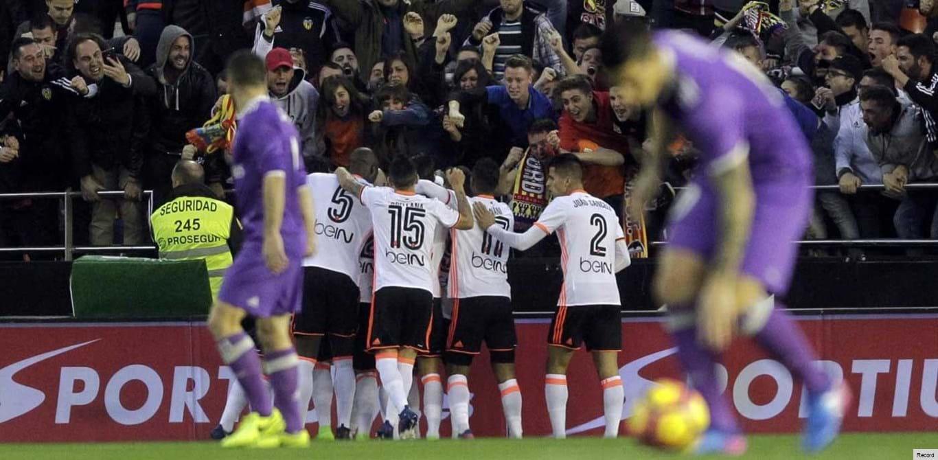 Valencia-Real Madrid, 2-1