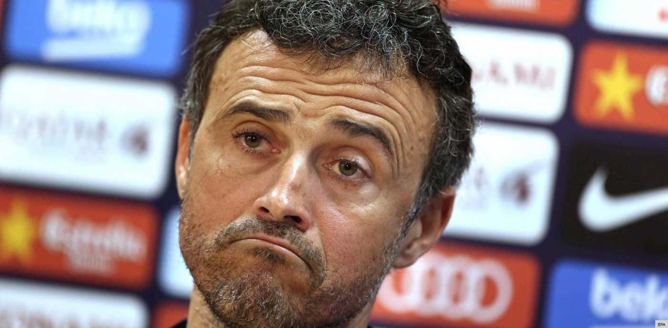 Luis Enrique comentou demissão de Ranieri... ao seu estilo