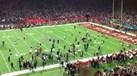 A derradeira jogada e a festa dos New England Patriots