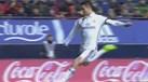 Mesmo de ângulo apertado Ronaldo abriu o marcador em Pamplona