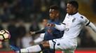 A crónica do V. Guimarães-Moreirense, 1-0: Valia da eficácia aliviou o assalto