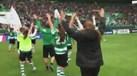 Futebol feminino: assim foi a festa do Sporting