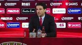 Jorge Simão diz que o Benfica não foi superior