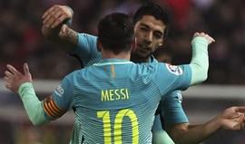 Barcelona em vantagem na Taça do Rei