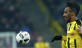 Borussia aconselha Aubameyang a não falar sobre saída