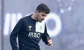 Encerrada preparação para o Sporting ainda sem Rúben Neves