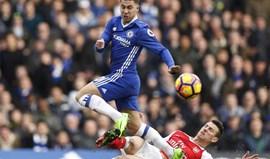 Chelsea sem piedade do Arsenal ganha (ainda mais) balanço rumo ao título