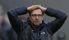 Klopp e o desaire diante do Hull City: «Temos de acordar, porque isto não é aceitável»