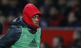 Mourinho falou em falta de mentalidade vencedora e Martial 'enfiou a carapuça'