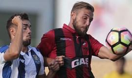 Olhanense-FC Porto B, 2-2: Dragões em inferioridade numérica empatam em Olhão