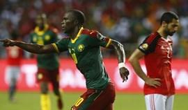 Golo tardio de Aboubakar dá 5.º título aos Camarões