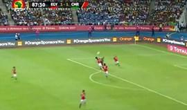 O golo estupendo de Aboubakar que deu a CAN aos Camarões