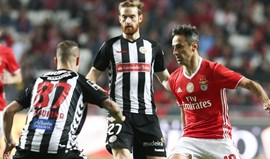 Equipa do Benfica frente ao Nacional: Um bis para acalmar