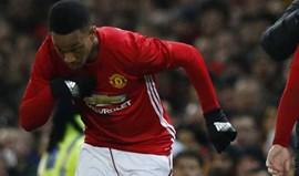Martial desmente que esteja de saída do United