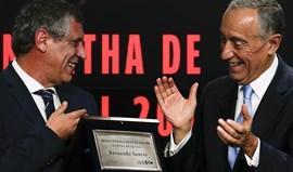 Marcelo Rebelo de Sousa elogia Fernando Santos, o herói que potenciou o melhor de Portugal
