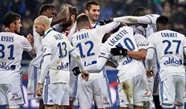 Depay estreia-se a marcar na goleada do Lyon