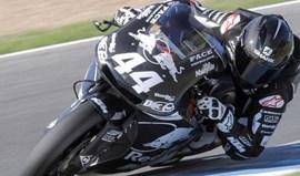 Moto2: Miguel Oliveira mais rápido no segundo dia de treinos em Valência