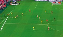 Benfica-Arouca visto à lupa: Estratégia passou pelo exterior