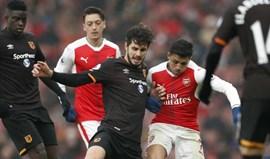 Arsenal-Hull City, 2-0