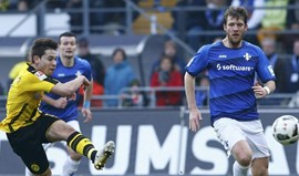 Dortmund perde em Darmstadt antes da visita à Luz
