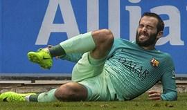 Jogadores do Barcelona deixam mensagens de apoio a Aleix Vidal
