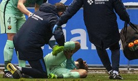 Temporada terminou para Aleix Vidal