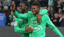 St. Étienne goleia (4-0) e Jorginho estreia-se a marcar