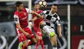 A crónica do Boavista-Sp. Braga, 1-1: Jogo da balança deu empate justo