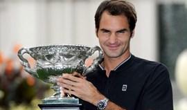 Roger Federer sobe ao 9.º lugar do ranking