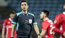 Tiago Martins volta a arbitrar o Benfica