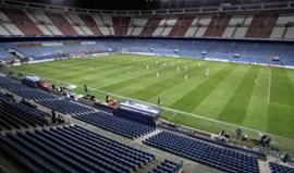 Bilhetes à venda para o último jogo no Vicente Calderón