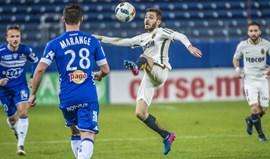 Golo de Bernardo Silva evita derrota do Monaco