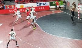 Taça EHF: Benfica estreia-se a vencer no Grupo D