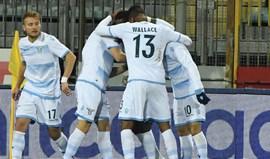 Lazio vence em Empoli e ascende ao 5.º posto à condição