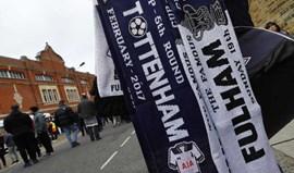 Fulham-Tottenham, em direto