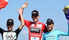 Rui Costa satisfeito com o segundo lugar, mas gostava de ter vencido a etapa