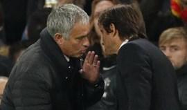 Mourinho encontra Chelsea nos 'quartos' da Taça
