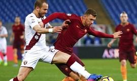 Roma recupera segundo lugar com goleada