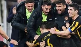 Grécia: Paulo Bento perde na Liga quase cinco meses depois