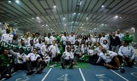Sporting conquista títulos nacionais em masculinos e femininos