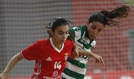 Sporting bate Benfica (3-2) em femininos