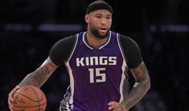 Kings confirmam Cousins nos Pelicans após terem recebido proposta melhor... dois dias antes