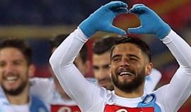 Arsenal pondera avançar por Lorenzo Insigne