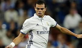 Zidane: «Pepe é um jogador importante e conto com ele até ao final»