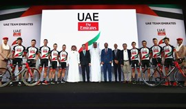 Companhia aérea Emirates patrocina equipa de Rui Costa