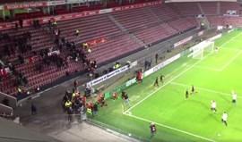 Festa do Benfica na Holanda após penáltis aconteceu junto aos adeptos