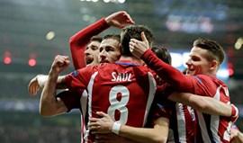 Atlético Madrid impõe-se na Alemanha e ganha vantagem confortável na eliminatória