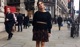 Sara Carbonero encantada com Londres