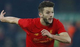 Adam Lallana prolonga contrato com Liverpool até 2020